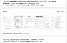 Printable Reading Worksheets 4Th Grade