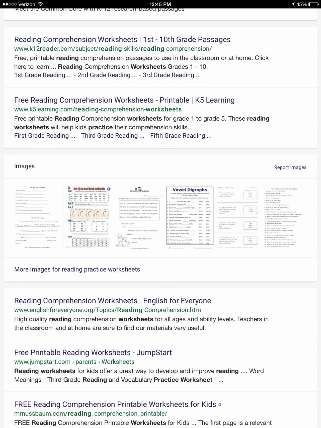 Year 2 Literacy Worksheets - 3Rd Grade Reading Comprehension   Printable Reading Worksheets 4Th Grade